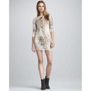 Young, Fabulous & Broke Animal Print Tunic Dress L